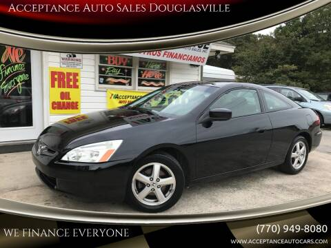 2005 Honda Accord for sale at Acceptance Auto Sales Douglasville in Douglasville GA