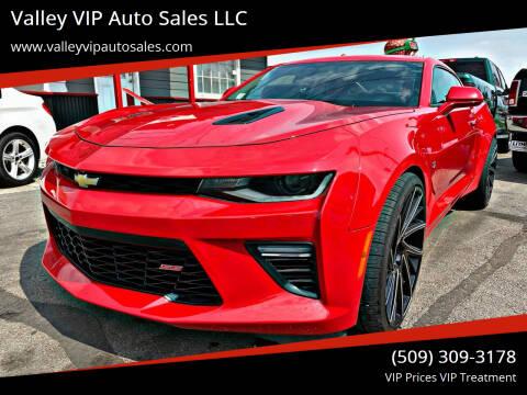 2017 Chevrolet Camaro for sale at Valley VIP Auto Sales LLC in Spokane Valley WA