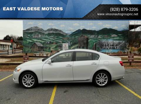 2006 Lexus GS 300 for sale at EAST VALDESE MOTORS / VINSON AUTO GROUP in Valdese NC
