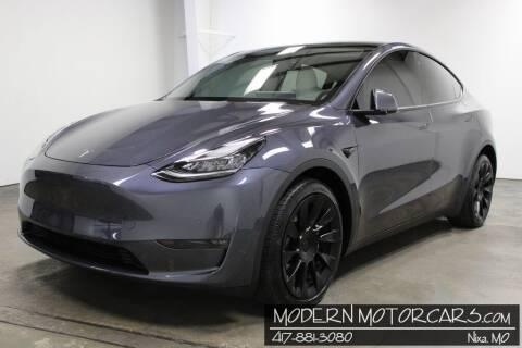 2021 Tesla Model Y for sale at Modern Motorcars in Nixa MO