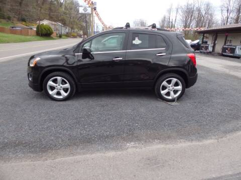 2015 Chevrolet Trax for sale at RJ McGlynn Auto Exchange in West Nanticoke PA
