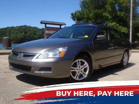 2007 Honda Accord for sale at Car Store Of Gainesville in Oakwood GA