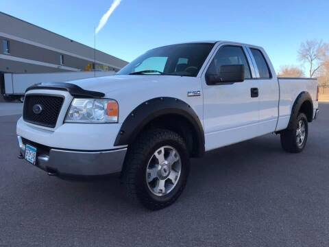 2005 Ford F-150 for sale at Angies Auto Sales LLC in Newport MN