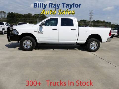 2018 RAM Ram Pickup 2500 for sale at Billy Ray Taylor Auto Sales in Cullman AL
