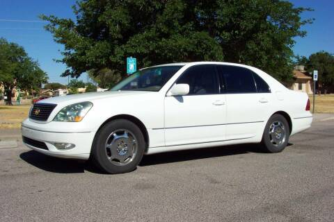 2002 Lexus LS 430 for sale at Park N Sell Express in Las Cruces NM