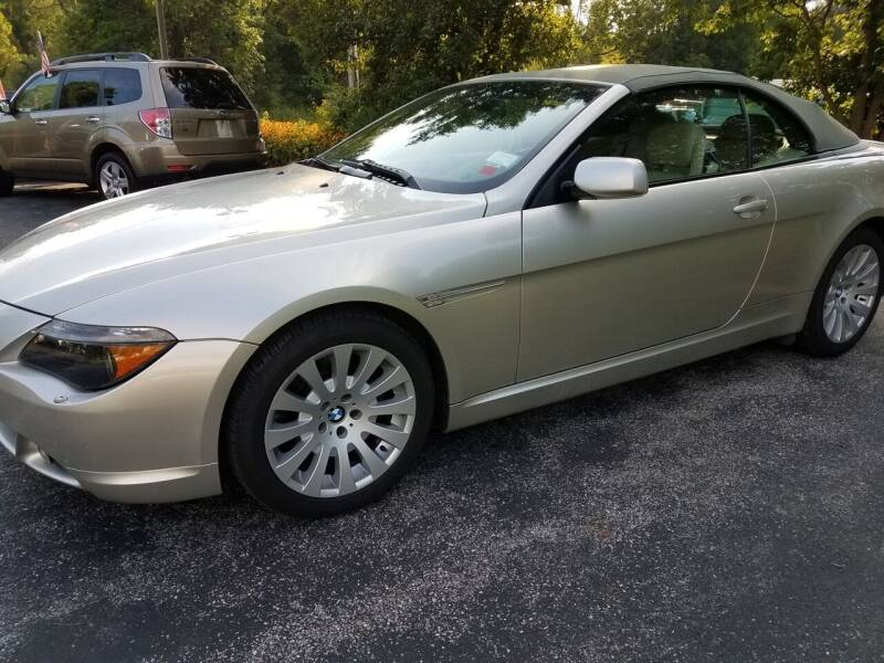 2004 BMW 6 Series for sale at Ed Davis LTD in Poughquag NY