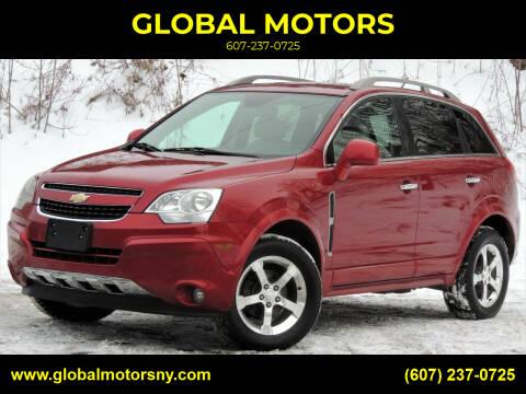 2012 Chevrolet Captiva Sport for sale at GLOBAL MOTORS in Binghamton NY