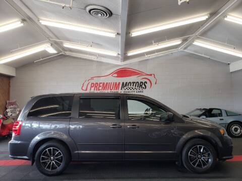 2015 Dodge Grand Caravan for sale at Premium Motors in Villa Park IL