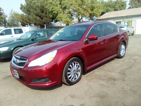 2011 Subaru Legacy for sale at Larry's Auto Sales Inc. in Fresno CA