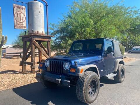 2006 Jeep Wrangler for sale at Double H Auto Exchange in Queen Creek AZ