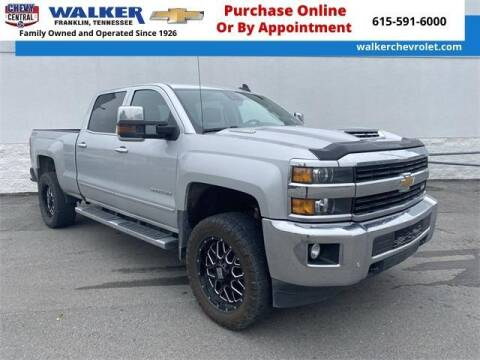 2017 Chevrolet Silverado 3500HD for sale at WALKER CHEVROLET in Franklin TN