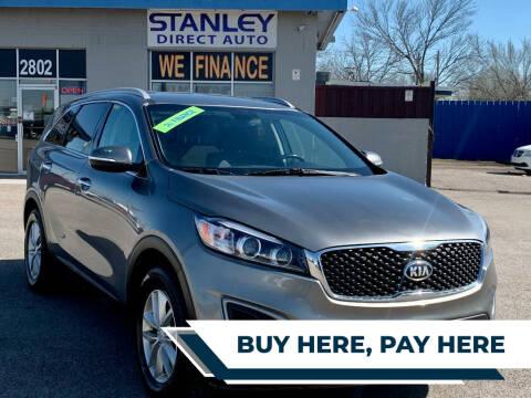 2016 Kia Sorento for sale at Stanley Direct Auto in Mesquite TX