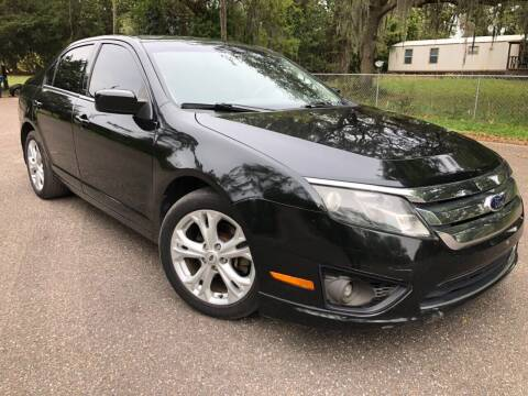 2012 Ford Fusion for sale at Next Autogas Auto Sales in Jacksonville FL
