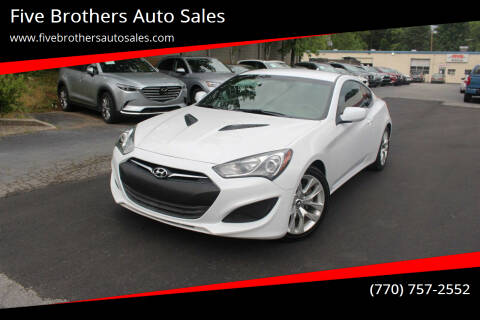 2013 Hyundai Genesis Coupe for sale at Five Brothers Auto Sales in Roswell GA