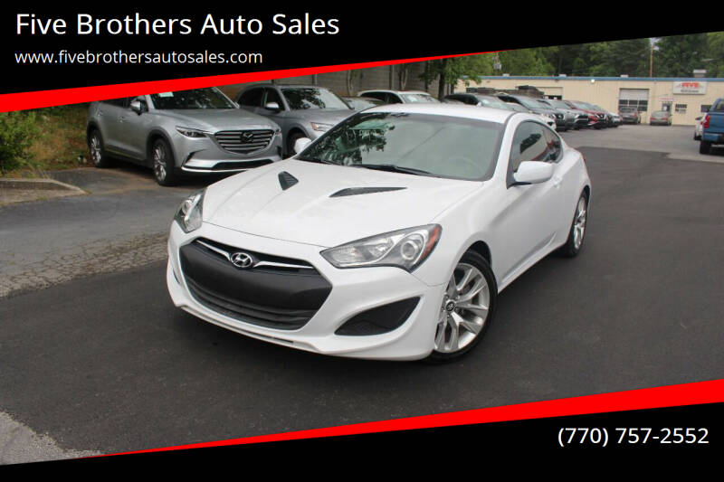 2013 Hyundai Genesis Coupe for sale in Roswell, GA