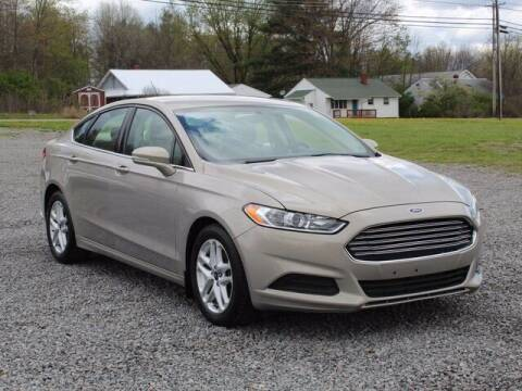 2016 Ford Fusion for sale at Street Track n Trail - Vehicles in Conneaut Lake PA