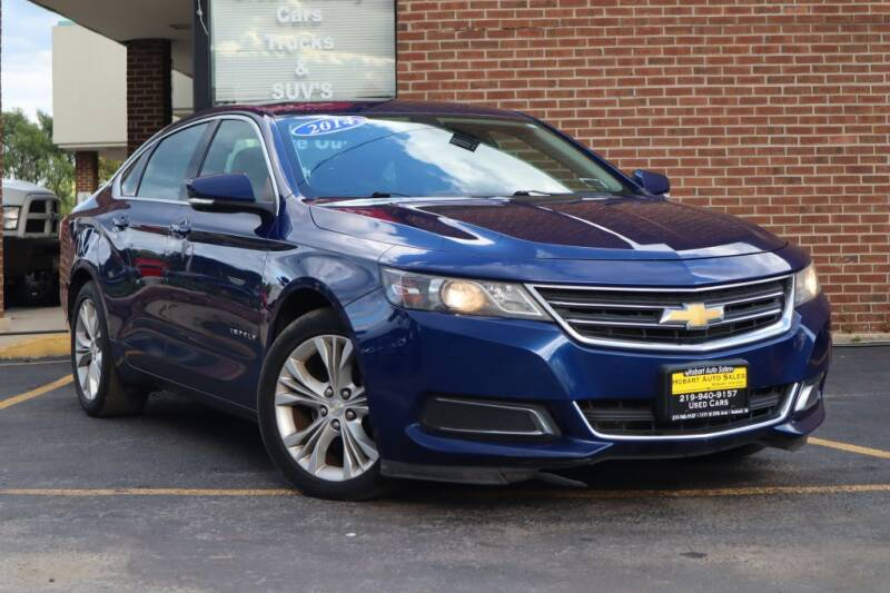 2014 Chevrolet Impala for sale at Hobart Auto Sales in Hobart IN
