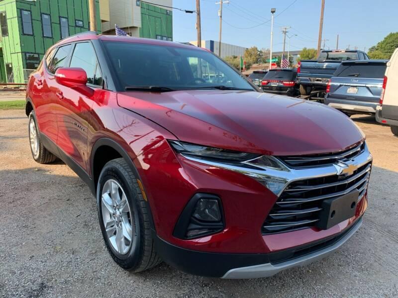 2019 Chevrolet Blazer for sale at LLANOS AUTO SALES LLC in Dallas TX