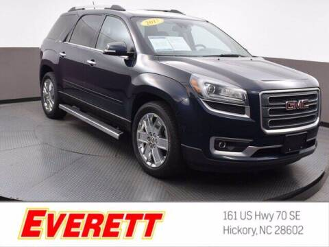2017 GMC Acadia Limited for sale at Everett Chevrolet Buick GMC in Hickory NC