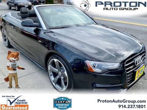 2016 Audi A5 for sale at Proton Auto Group in Yonkers NY