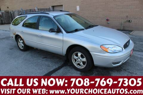 2005 Ford Taurus for sale at Your Choice Autos in Posen IL