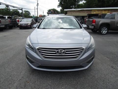 2015 Hyundai Sonata for sale at DERIK HARE in Milton FL