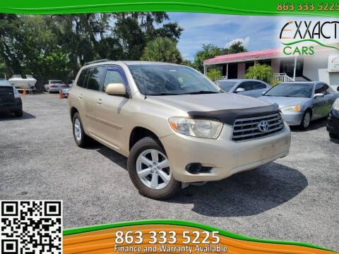 2008 Toyota Highlander for sale at Exxact Cars in Lakeland FL