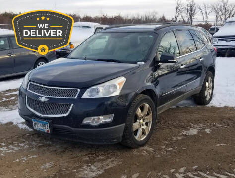 2011 Chevrolet Traverse for sale at Tower Motors in Brainerd MN