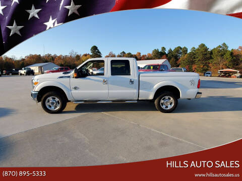 2016 Ford F-250 Super Duty for sale at Hills Auto Sales in Salem AR