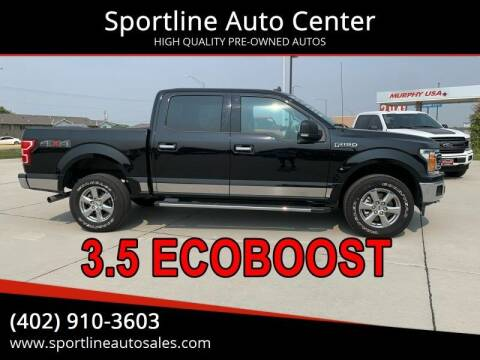2020 Ford F-150 for sale at Sportline Auto Center in Columbus NE