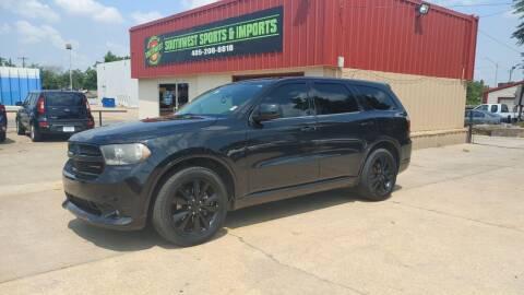 2015 Dodge Durango for sale at Southwest Sports & Imports in Oklahoma City OK