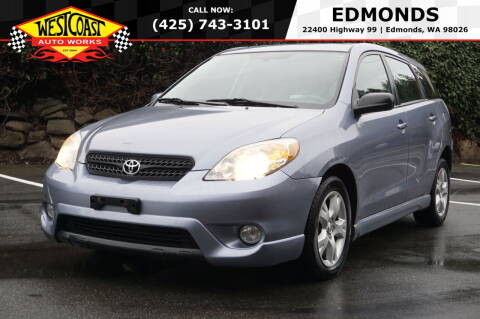 2005 Toyota Matrix for sale at West Coast Auto Works in Edmonds WA