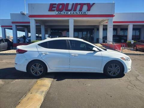 2018 Hyundai Elantra for sale at EQUITY AUTO CENTER in Phoenix AZ