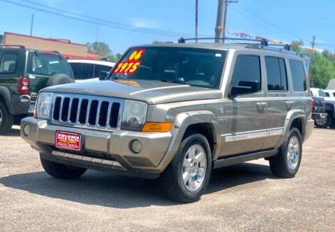 2006 Jeep Commander for sale at SOLOMA AUTO SALES in Grand Island NE