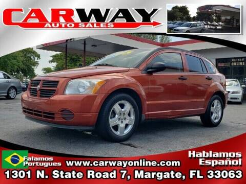 2008 Dodge Caliber for sale at CARWAY Auto Sales in Margate FL