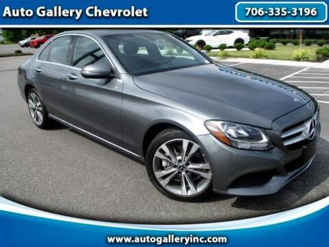 2018 Mercedes-Benz C-Class for sale at Auto Gallery Chevrolet in Commerce GA