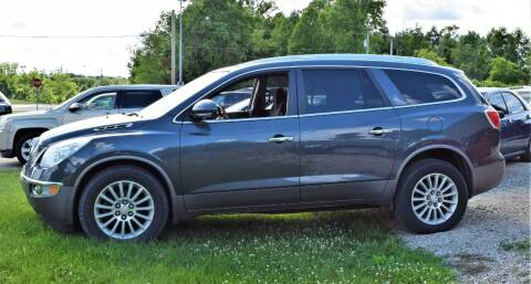 2011 Buick Enclave for sale at PINNACLE ROAD AUTOMOTIVE LLC in Moraine OH