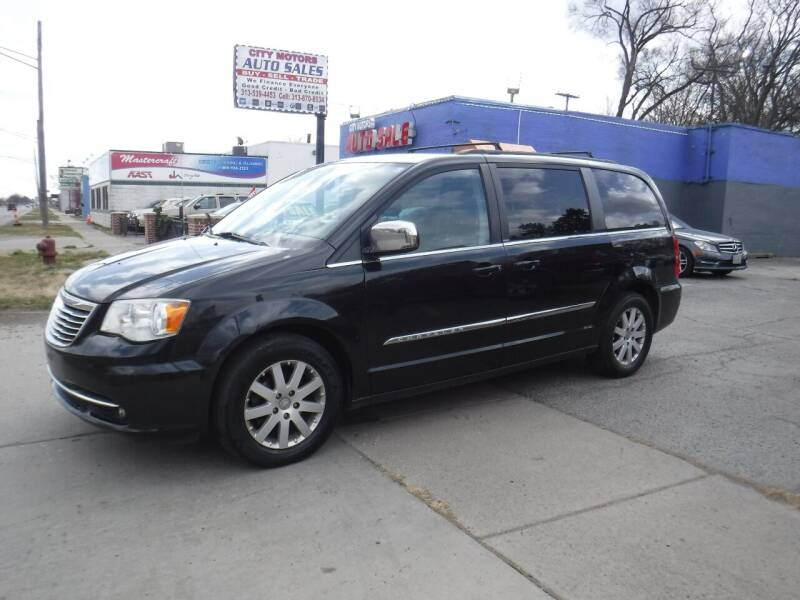 2011 Chrysler Town and Country for sale at City Motors Auto Sale LLC in Redford MI
