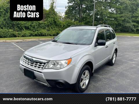 2011 Subaru Forester for sale at Boston Auto Cars in Dedham MA