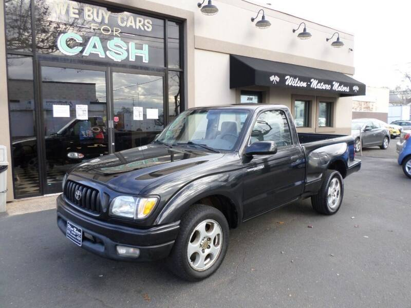 2001 Toyota Tacoma for sale at Wilson-Maturo Motors in New Haven Ct CT