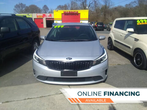 2017 Kia Forte for sale at Marino's Auto Sales in Laurel DE