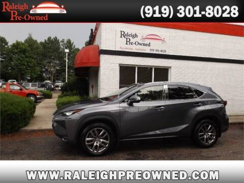 2015 Lexus NX 200t for sale at Raleigh Pre-Owned in Raleigh NC