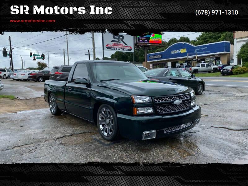 2003 Chevrolet Silverado 1500 for sale at SR Motors Inc in Gainesville GA