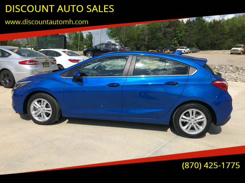 2017 Chevrolet Cruze for sale at DISCOUNT AUTO SALES in Mountain Home AR