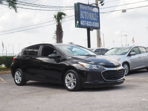 2019 Chevrolet Cruze for sale at Winter Park Auto Mall in Orlando FL