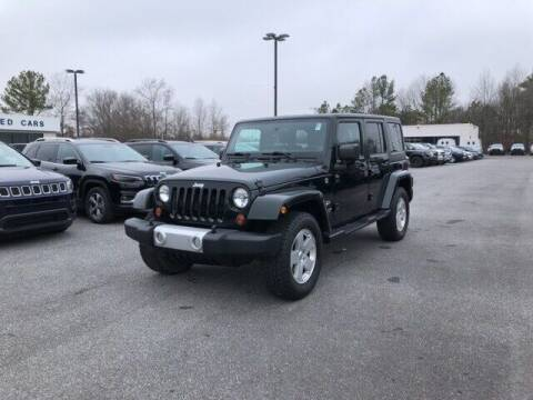 2012 Jeep Wrangler Unlimited for sale at FRED FREDERICK CHRYSLER, DODGE, JEEP, RAM, EASTON in Easton MD