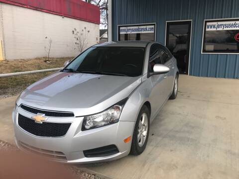 2014 Chevrolet Cruze for sale at Jerry's Used Cars in Okmulgee OK