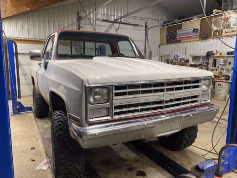 1985 Chevrolet C/K 10 Series for sale at B & B Auto Sales in Brookings SD