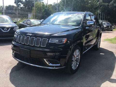 2017 Jeep Grand Cherokee for sale at Texas Luxury Auto in Houston TX