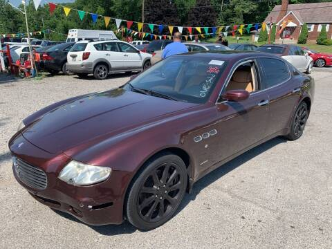 2005 Maserati Quattroporte for sale at Trocci's Auto Sales in West Pittsburg PA